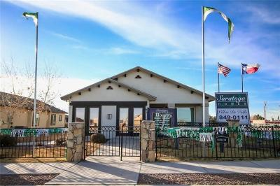 El Paso Single Family Home For Sale: 901 Sgt Jose Gonzales Road