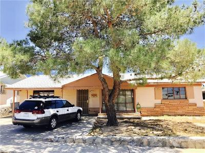 El Paso Single Family Home For Sale: 808 Brazil Place