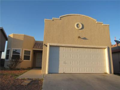 El Paso TX Single Family Home For Sale: $105,000