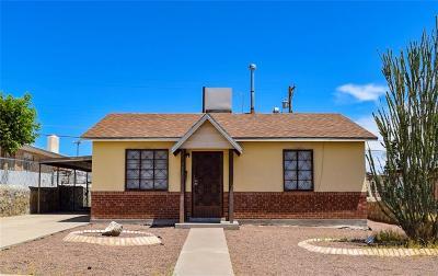 El Paso Single Family Home For Sale: 3521 Tyler Avenue