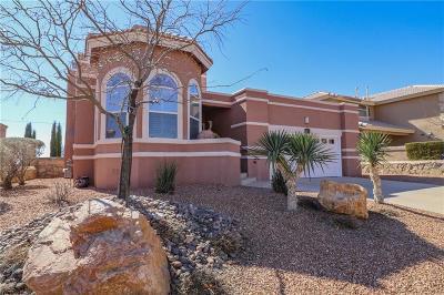 El Paso Single Family Home For Sale: 1525 Altar Del Sol