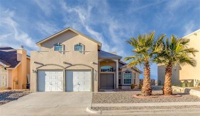 El Paso Single Family Home For Sale: 7355 Camino Del Sol