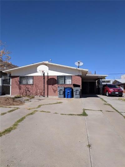 El Paso Single Family Home For Sale: 2423 Silver Avenue