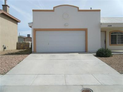 Single Family Home For Sale: 11420 Pifas Nevarez Place