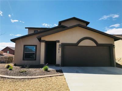 El Paso Single Family Home For Sale: 1617 Rayado Creek Lane