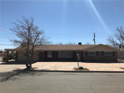 El Paso Single Family Home For Sale: 8716 Parkland Drive
