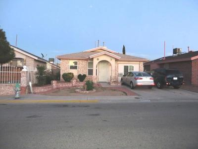 El Paso Single Family Home For Sale: 876 Fragrant Ash Place