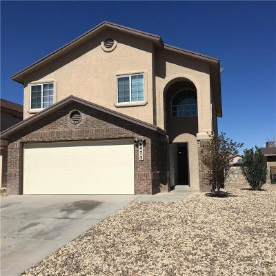 Socorro Single Family Home For Sale: 473 Valle Del Mar Drive