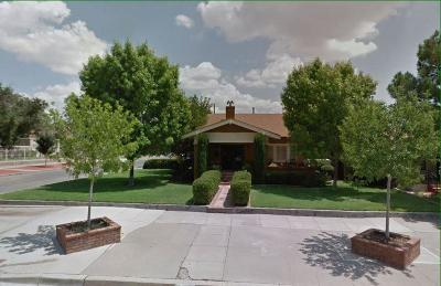 El Paso Single Family Home For Sale: 1416 Elm Street
