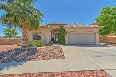El Paso Single Family Home For Sale: 7312 Corona Del Sol Drive