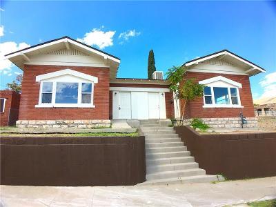 El Paso Multi Family Home For Sale: 915 River Avenue #A,B,C
