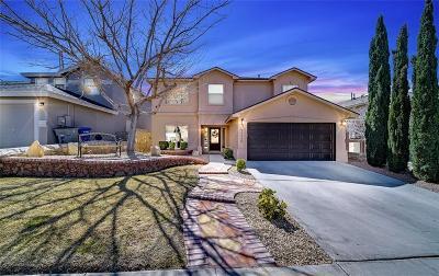 El Paso Single Family Home For Sale: 7338 Corona Del Sol