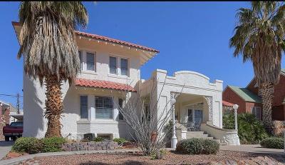 El Paso Single Family Home For Sale: 3117 Copper Avenue