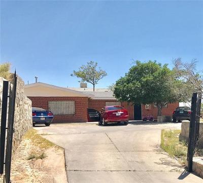 El Paso Multi Family Home For Sale: 1240 Cotton Street #1240 & 1