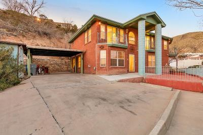 El Paso Single Family Home For Sale: 1601 Camino Bello Lane