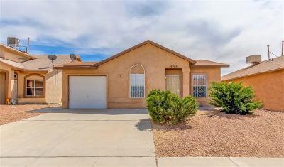 El Paso Single Family Home For Sale: 14008 Tierra Venado Drive