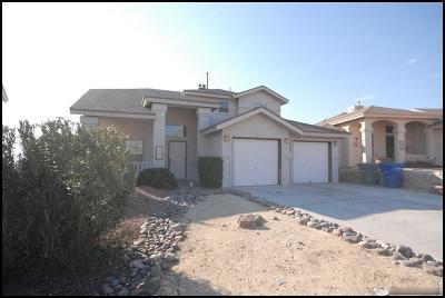 El Paso Single Family Home For Sale: 1615 Playa Del Sol