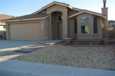 El Paso Single Family Home For Sale: 12584 Wolf Berry Drive