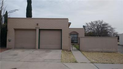 El Paso Single Family Home For Sale: 3212 Isla Cocoa Lane