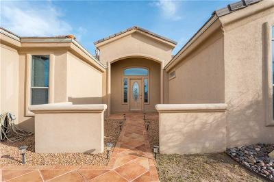 El Paso Single Family Home For Sale: 12297 Sitting Bull Drive