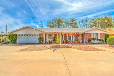 Single Family Home For Sale: 9909 Suez Drive