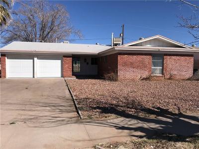 El Paso Single Family Home For Sale: 5109 Bastille Avenue
