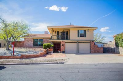 El Paso Single Family Home For Sale: 72 Northwind Drive