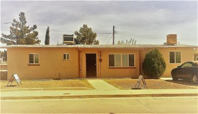 El Paso Single Family Home For Sale: 7347 Wisteria Avenue