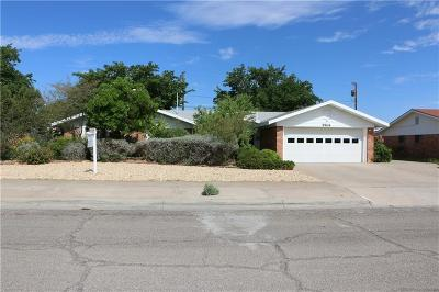 El Paso Single Family Home For Sale: 9904 Suez Drive