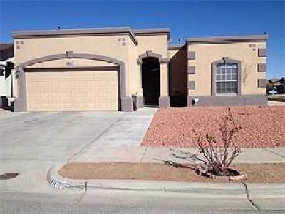 El Paso Single Family Home For Sale: 11685 Desert Keep