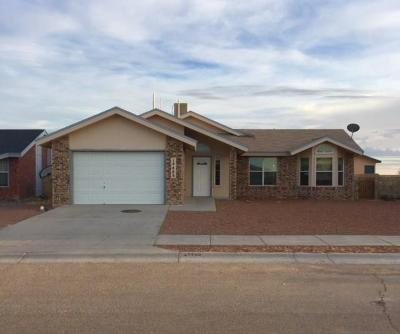 Horizon City Single Family Home For Sale: 14488 Bryce Drive
