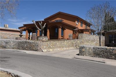 El Paso Single Family Home For Sale: 1404 Wainwright Drive