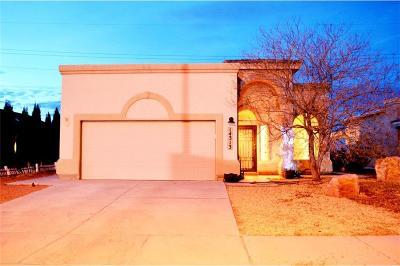Horizon City Single Family Home For Sale: 14313 Desert Orchid Drive