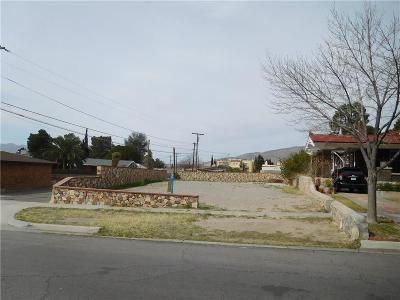 El Paso Single Family Home For Sale: 111 Pennsylvania Place