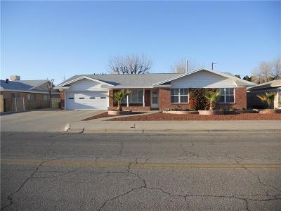 El Paso Single Family Home For Sale: 8805 Cosmos Ave