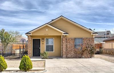 Socorro Single Family Home For Sale: 10735 Spring Valley Circle