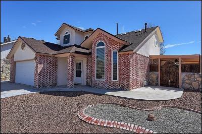 Horizon City Single Family Home For Sale: 13904 Golden Mesa Court