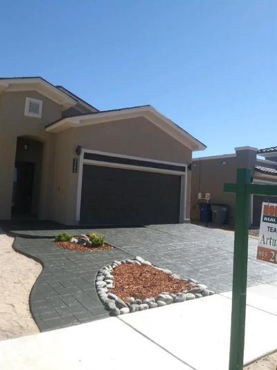 El Paso Single Family Home For Sale: 2144 Carlos Leon Place