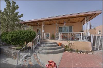 El Paso Single Family Home For Sale: 2201 Silver Avenue