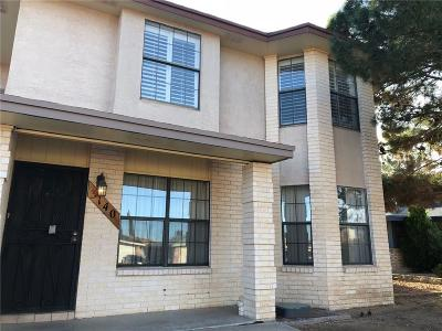 El Paso Single Family Home For Sale: 3140 Hickman Street