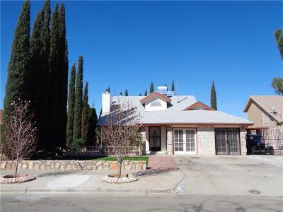 El Paso TX Single Family Home For Sale: $179,900