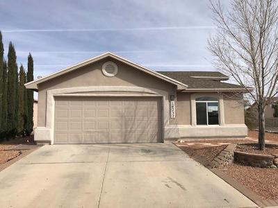 Horizon City Single Family Home For Sale: 14232 Desert Mesquite Drive