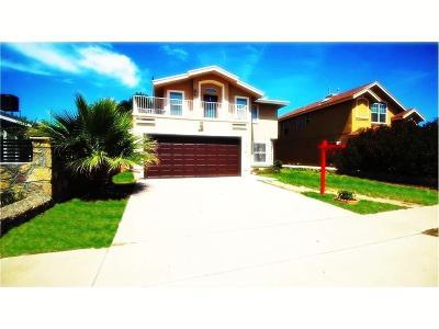 Horizon City Single Family Home For Sale: 1551 Paseo Feliz Drive