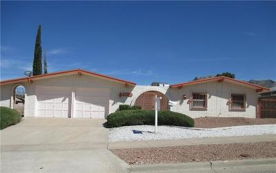 El Paso TX Single Family Home For Sale: $219,900