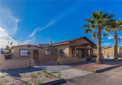 El Paso TX Single Family Home For Sale: $120,000