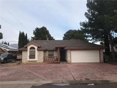 El Paso TX Single Family Home For Sale: $126,999