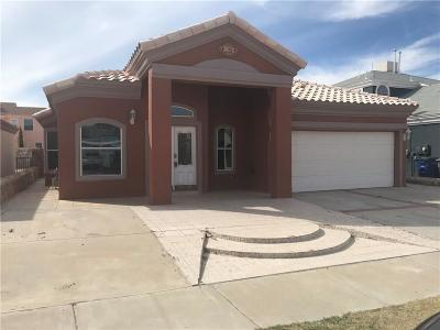 El Paso TX Single Family Home For Sale: $125,000