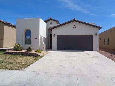 El Paso TX Single Family Home For Sale: $154,000