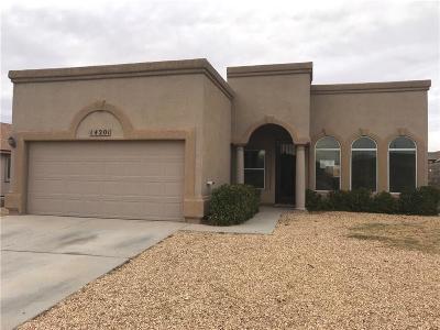 Single Family Home For Sale: 14201 Desert Stone Drive