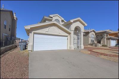 El Paso Single Family Home For Sale: 1105 West Bend Lane
